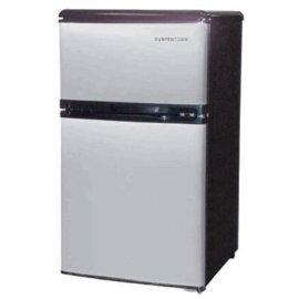 Compact Double Door Refrigerator - 3.2 Cubic Foot