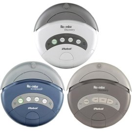 Remanufactured iRobot Roomba 4230 Remote Scheduler Robotic Vacuum - Clean Blue