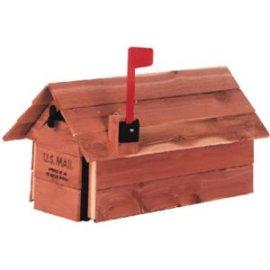 Cedar Chalet Mailbox