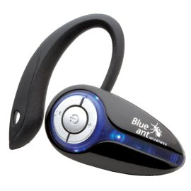 BlueAnt X3 Micro Bluetooth Headset - Black/Blue