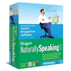 Dragon NaturallySpeaking 9 Preferred Speech Recognition