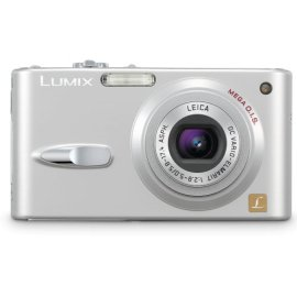 Panasonic DMC-FX3S 6MP Digital Camera with 3x Optical Image Stabilized Zoom (Silver)