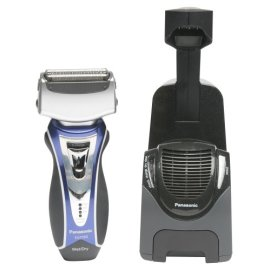 Panasonic ES7056S Vortex HydraClean Shaving System, Blue