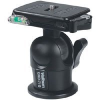 Velbon QHD-71Q Magnesium Heavy-Duty Ball Head with Quick Release, Maximum Load 13.2 lbs.,
