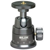 Slik SBH-550 Ball Head, for Camera and Lens Combinations Weighing up to 22 Lbs.
