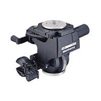 Bogen - Manfrotto 3263 Deluxe Geared Head with Quick Release Supports - 22.1 lbs