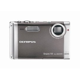Olympus Stylus 730 7.1MP Digital Camera with Digital Image Stabilized 3x Optical Zoom (Silver)