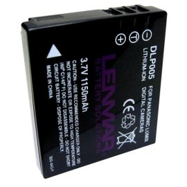 Lenmar Panasonic CGA-S005A Equivalent Digital Camera Battery
