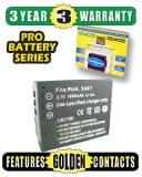 Pro Series CGA-S007 Lithium-Ion Battery - Equivalent to Panasonic CGA-S007 - for use with Panasonic Lumix DMC-TZ1 Digital Camera