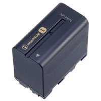 Adorama Lithium-Ion L-Series Camcorder Battery with Info, Replacement for the Sony NPF-970, 6600mah