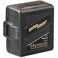 Anton Bauer Logic Series Hytron 140 Digital Nickel Metal Hydride Battery 14.4 volts, 140 watt hours, Anton Bauer 3-Stud Gold Mount