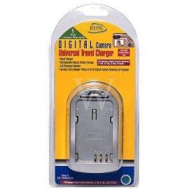 Universal Travel Battery Charger for Olympus Batteries: LI-10B, LI-12B, LI-30B, PS-BLM1