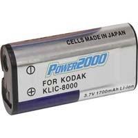 POWER 2000 ACD-263 Kodak KLIC-8000 Equivalent Battery for Kodak