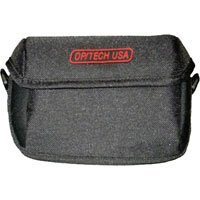 "Op/Tech Large Hipster Pouch, Universal Belt Pouch for Film or Digital Cameras, 5.5""w x 3.5""h x 1.75""d, Color Black."
