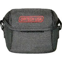 "Op/Tech Small Hipster Pouch, Universal Belt Pouch for Film or Digital Cameras, 4""w x 3""h x 1""d, Color Black"