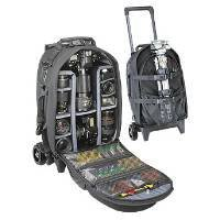 Tamrac #697 Big Wheel Rolling Backpack LP7 - Black