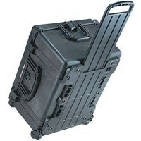 Pelican 1620 Watertight Hard Case with Cubed Foam Interior & Wheels - Black