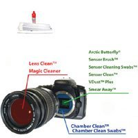 Visible Dust Chamber Clean Liquid, Camera Cleaning Kit.