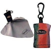 Alpine Innovations Spudz the most Convenient Micro-Fiber Cleaning Cloth, Standard 6 x 6, Rainbow