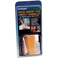 Kinetronics Memory Card Contact Cleaning Kit for All Digital Memory Cards.