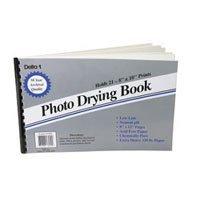 Adorama Print Drying Blotter Book 8x12 For Drying 8x10 Photos