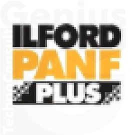 Ilford PAN F Plus Ultra-Fine Grain Black and White Film, ISO 50, 120 Size