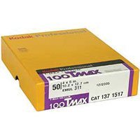 100TMAX 4x5 Film (50 sheets)
