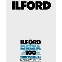 Ilford Delta Pro 100 Fine Grain Medium Speed, Black and White Film, ISO 100, 4 x 5 - 25 Sheets