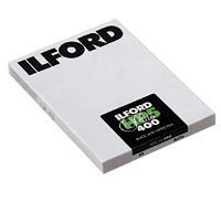 Ilford HP-5 Plus 400 Fast Black and White Professional Film, ISO 400, 5 x 7 - 25 Sheets