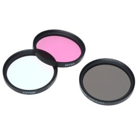 Tiffen 52mm Deluxe 3 Filter Kit