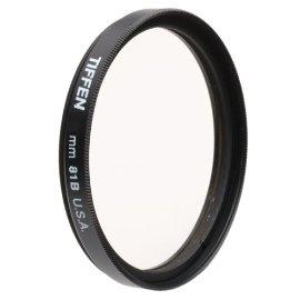 Tiffen 72mm 81B Filter