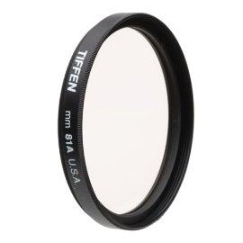 Tiffen 55mm 81A Filter