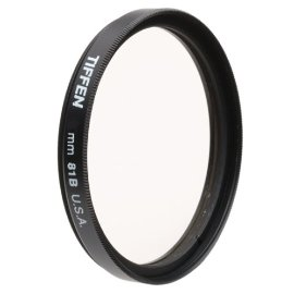 Tiffen 49mm 81B Filter