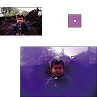 Cokin A064 Filter, A, C.spot Violet