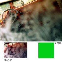 Kodak Wratten Gelatin Filter 75mm/3x3 Color Compensating CC 025 Green