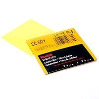 Kodak Wratten Gelatin Filter 75mm/3x3 Yellow Series Light Balancing #81D