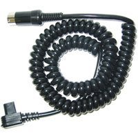 Sunpak 2 Pin Coiled Connector Cord for all High Voltage Sunpak Flashes Except the 544, 555 & 622 Super.