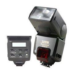 SUNPAK 040C 35mm Electronic Power Zoom Flash with LCD (SUNPAK 040C)