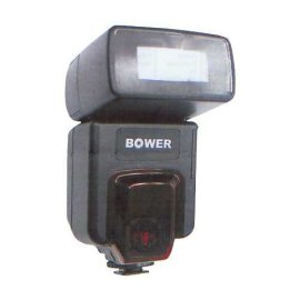 Bower ETTL / ETTL II Zoom Flash with GN 50mm ISO 100, for Canon EOS Cameras