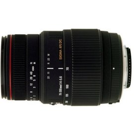 Sigma APO 70-300mm F/4-5.6 DG Macro Lens for Canon Digital SLR Cameras