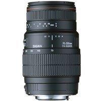Sigma APO 70-300mm F/4-5.6 DG Macro Lens for Nikon Digital SLR Cameras