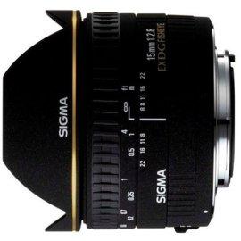Sigma 15mm F/2.8 EX DG Diagonal Fisheye Lens for Canon Digital SLR Cameras