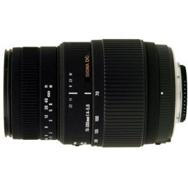 Sigma 70-300mm F/4-5.6 DG Macro Lens for Minolta and Sony Digital SLR Cameras