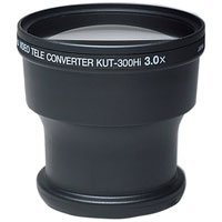 Kenko 3X Tele Lens for 37/46/49mm Hi-8/Super VHS Camcorders #KUT-300HI