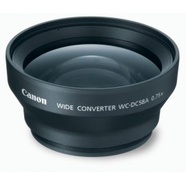 Canon WC-DC58A Wide Converter Lens for the S3 IS & S2 IS Digital Camera