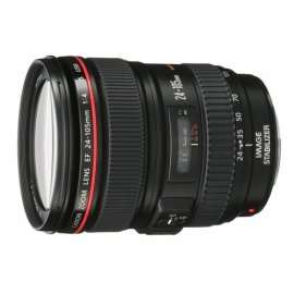 Canon EF 24-105mm f/4 L IS USM Lens for Canon EOS SLR Cameras (0344B002)