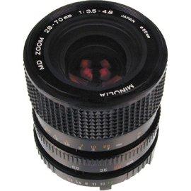 Minolta MD - Zoom lens - 28 mm - 70 mm - f/3.5-4.8 - Minolta MD