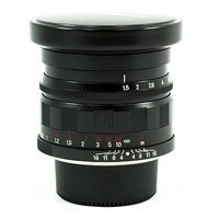Voigtlander Nokton 50mm f/1.5 Aspherical Standard Manual Focus Lens - Black