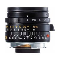Leica 28mm f/2 SUMMICRON-M ASPHERICAL Wide Angle Manual Focus Lens for M System - USA