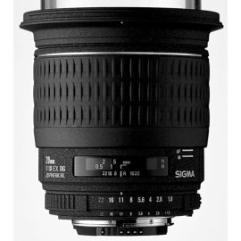 Sigma 20mm f/1.8 EX DG Aspherical Lens for Pentax SLR Cameras